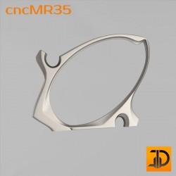 Зеркало cncMR35 - 3D модель ЧПУ