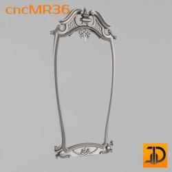 Зеркало cncMR36 - 3D модель ЧПУ