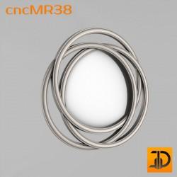 Зеркало cncMR38 - 3D модель ЧПУ