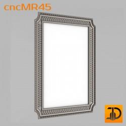 Зеркало cncMR45 - 3D модель ЧПУ