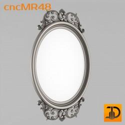 Зеркало cncMR48 - 3D модель ЧПУ