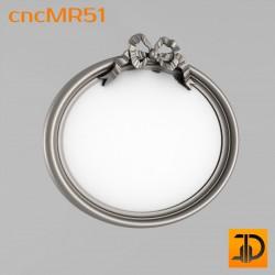 Зеркало cncMR51 - 3D модель ЧПУ