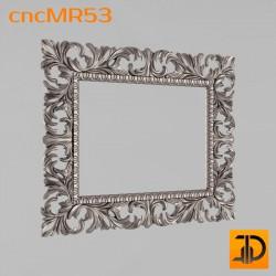 Зеркало cncMR53 - 3D модель ЧПУ