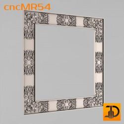 Зеркало cncMR54 - 3D модель ЧПУ