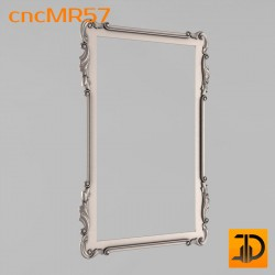 Зеркало cncMR57 - 3D модель ЧПУ