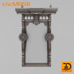 Зеркало cncMR58 - 3D модель ЧПУ
