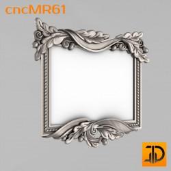 Зеркало cncMR61 - 3D модель ЧПУ