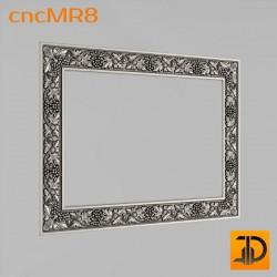 Зеркало cncMR8 - 3D модель ЧПУ