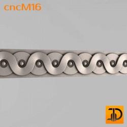 Молдинг cncM16 - 3D ЧПУ