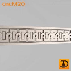 Молдинг cncM20 - 3D ЧПУ