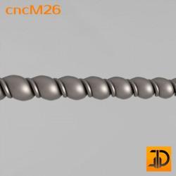 Молдинг cncM26 - 3D ЧПУ