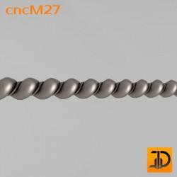 Молдинг cncM27 - 3D ЧПУ