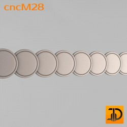 Молдинг cncM28 - 3D ЧПУ