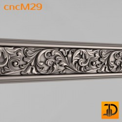 Молдинг cncM29 - 3D ЧПУ