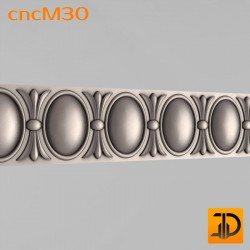 Молдинг cncM30 - 3D ЧПУ