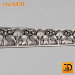 Молдинг cncM31 - 3D ЧПУ