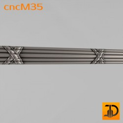 Молдинг cncM35 - 3D ЧПУ