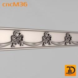 Молдинг cncM36 - 3D ЧПУ
