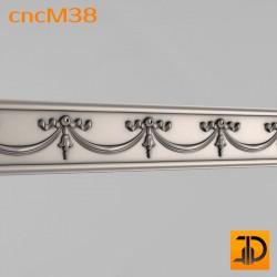 Молдинг cncM38 - 3D ЧПУ