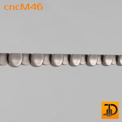 Молдинг cncM46 - 3D ЧПУ