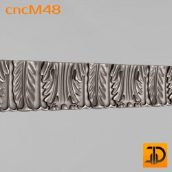 Молдинг cncM48 - 3D ЧПУ