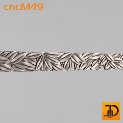 Молдинг cncM49 - 3D ЧПУ