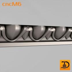 Молдинг cncM6 - 3D ЧПУ