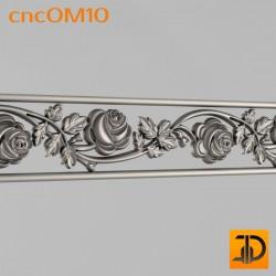 Орнамент cncOM10 - 3D ЧПУ