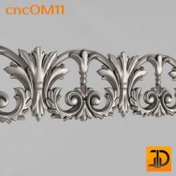 Орнамент cncOM11 - 3D ЧПУ