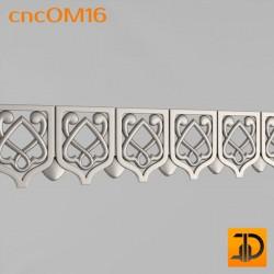 Орнамент cncOM16 - 3D ЧПУ