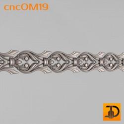 Орнамент cncOM19 - 3D ЧПУ