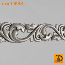 Орнамент cncOM3 - 3D ЧПУ