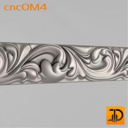 Орнамент cncOM4 - 3D ЧПУ