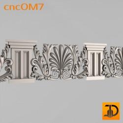 Орнамент cncOM7 - 3D ЧПУ