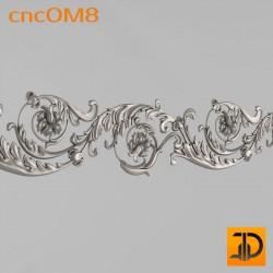 Орнамент cncOM8 - 3D ЧПУ