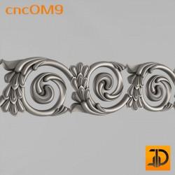 Орнамент cncOM9 - 3D ЧПУ