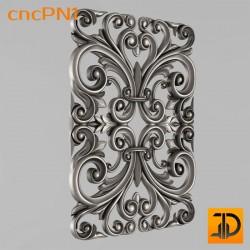 Резная панель cncPN1 - 3D ЧПУ