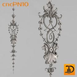 Резная панель cncPN10 - 3D ЧПУ