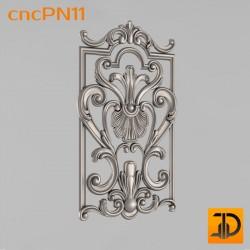 Резная панель cncPN11 - 3D ЧПУ