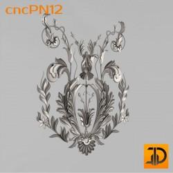 Резная панель cncPN12 - 3D ЧПУ