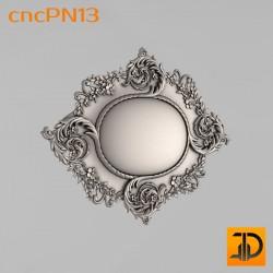 Резная панель cncPN13 - 3D ЧПУ