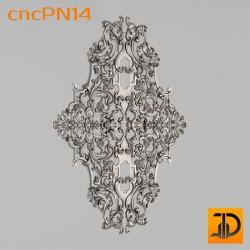 Резная панель cncPN14 - 3D ЧПУ