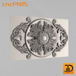 Резная панель cncPN15 - 3D ЧПУ