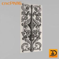 Резная панель cncPN16 - 3D ЧПУ