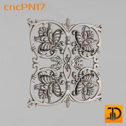 Резная панель cncPN17 - 3D ЧПУ