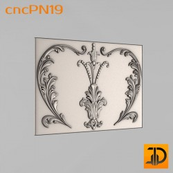 Резная панель cncPN19 - 3D ЧПУ
