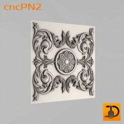 Резная панель cncPN2 - 3D ЧПУ