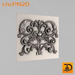 Резная панель cncPN20 - 3D ЧПУ