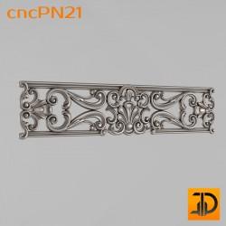Резная панель cncPN21 - 3D ЧПУ