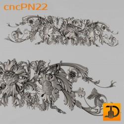 Резная панель cncPN22 - 3D ЧПУ